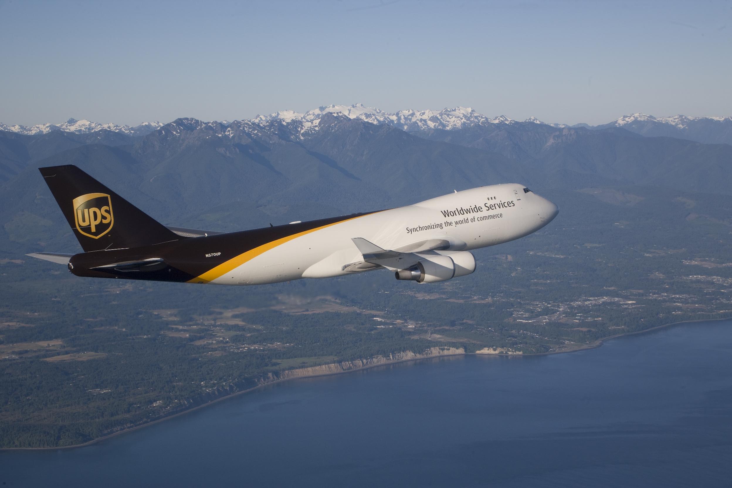 UPS Boeing 747-400F N570UP
